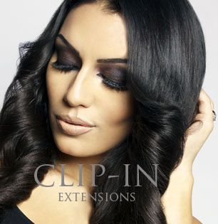 Remy Hair Clp-on extensions