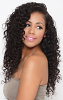remy medium curly hair extensions