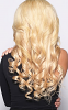 back view remy blonde hair extensions