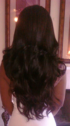 back body wave Remy Indian hair